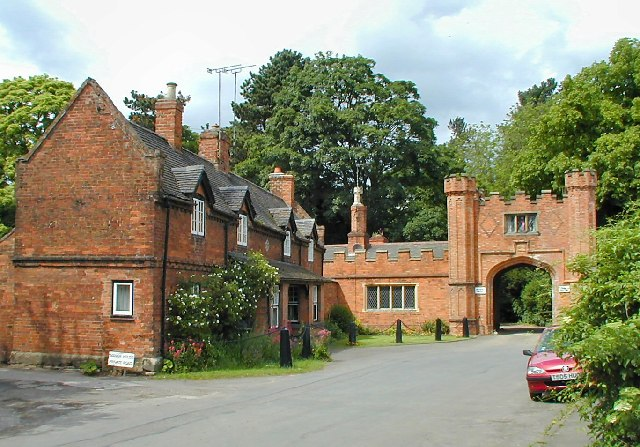 Gatehouse to Thrumpton Hall