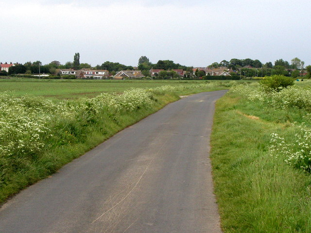 On the minor road south of Keyingham