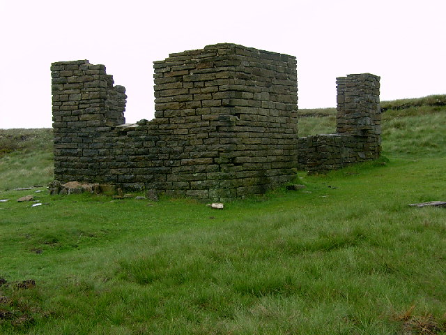 Ruin on Glossop Low