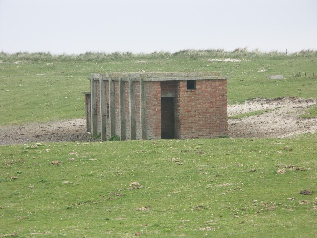WW2 Mortuary on Sanday
