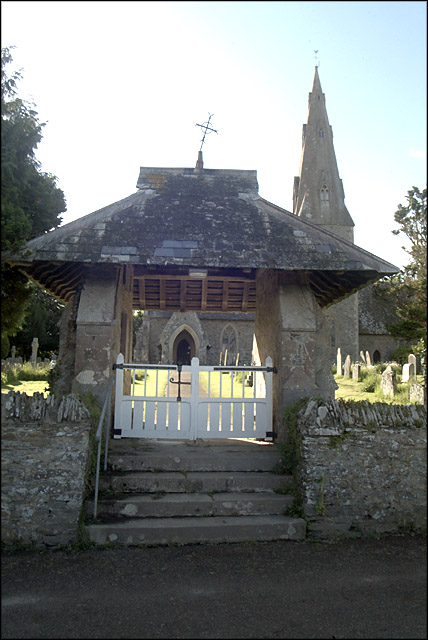 Lychgate, Landscove Church