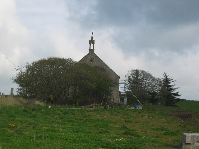 Secularised old church near Gamrie