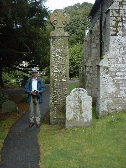 Celtic Cross, Nevern Church