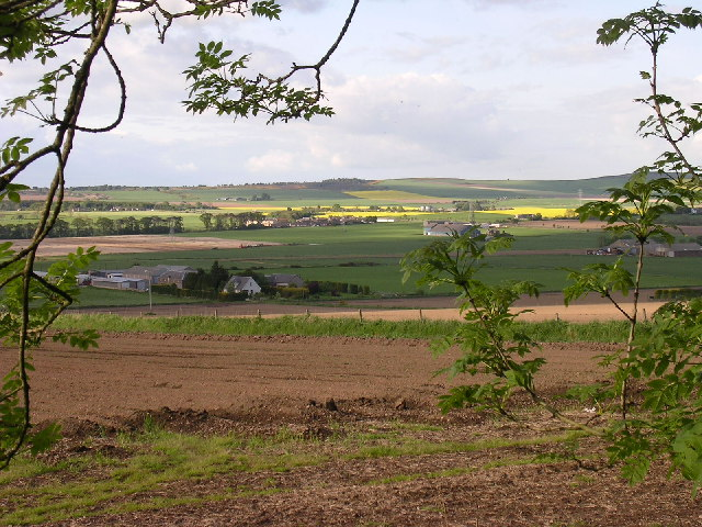 Farmland between Emmock and Whitewalls farms