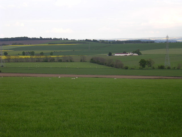 Farmland near North Mains of Baldovan