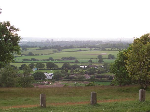 West of Barr Beacon