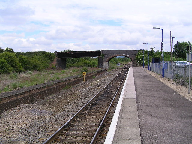Honeybourne Station on the Cotswold line