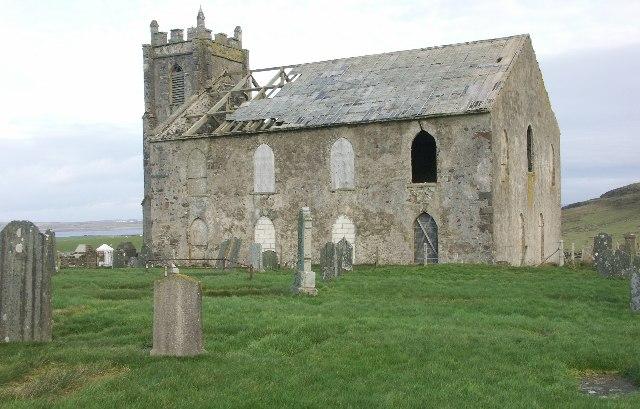Kilchoman old church, Islay
