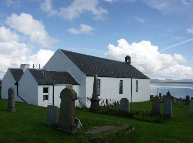 Former Kilchoman Free Church now Museum of Islay Life