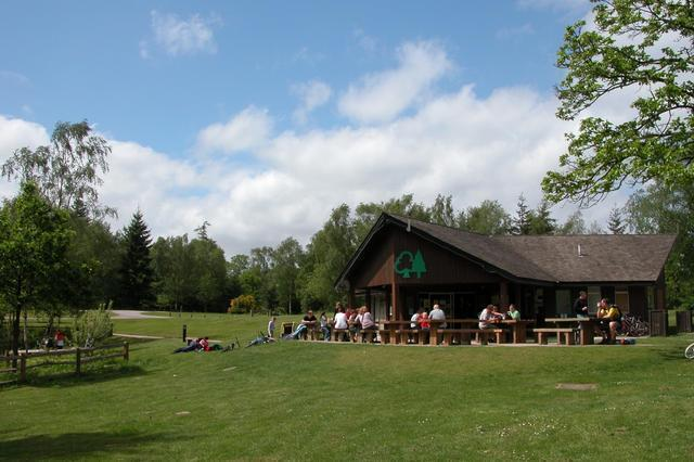 The visitor centre at Alice Holt forest