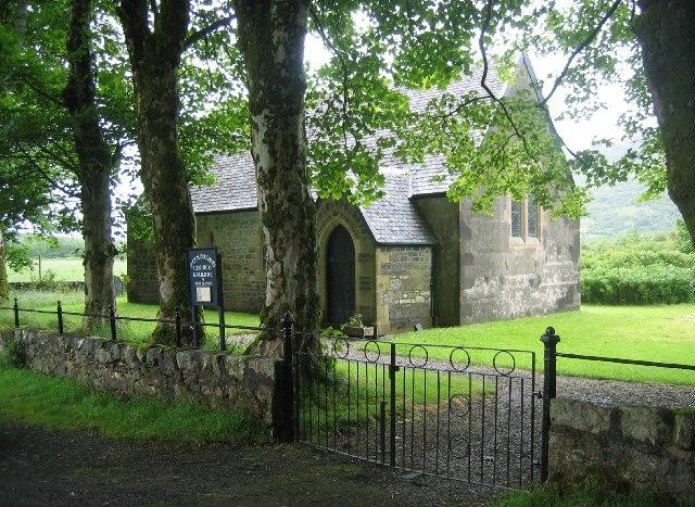 St Columba's Church, Gruline, Isle of Mull