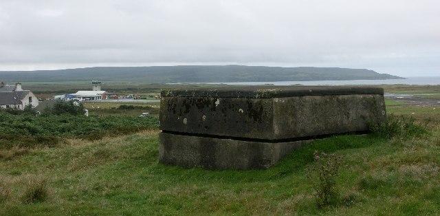 Battle HQ for WWII RAF Glenegedale