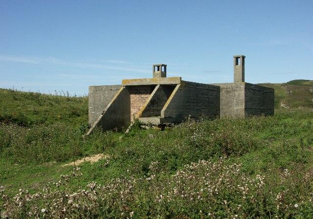 RAF Saligo Bay WWII Chain Home radar station