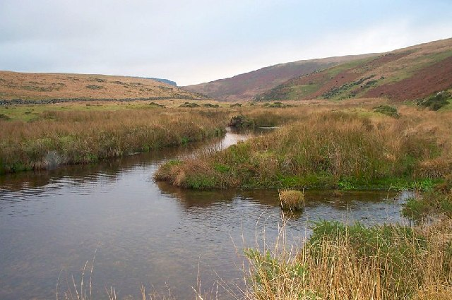 Upper Teign river - Dartmoor