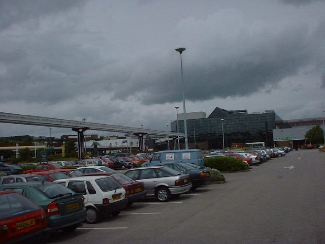 Merryhill Shopping Centre car park