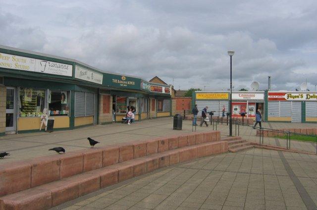 Shops, Gracemount