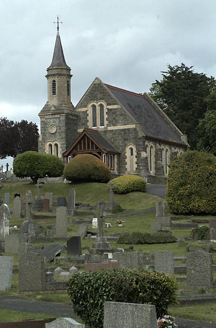 Cemetery near Newton Abbot