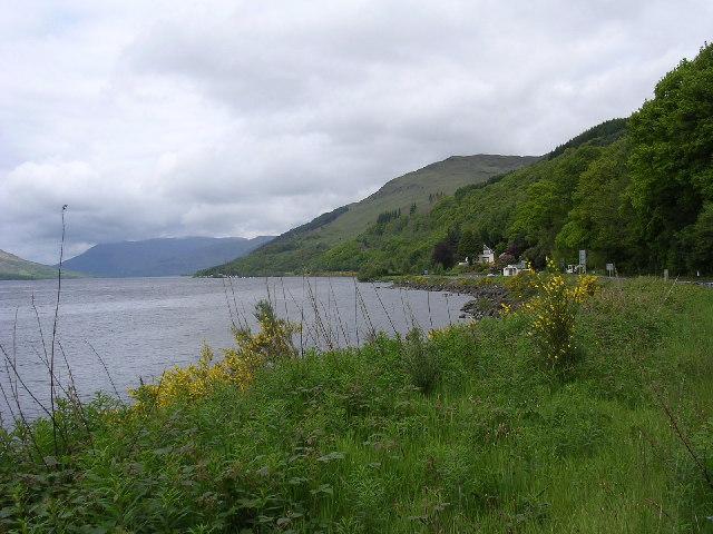 Loch Earn from St Fillans