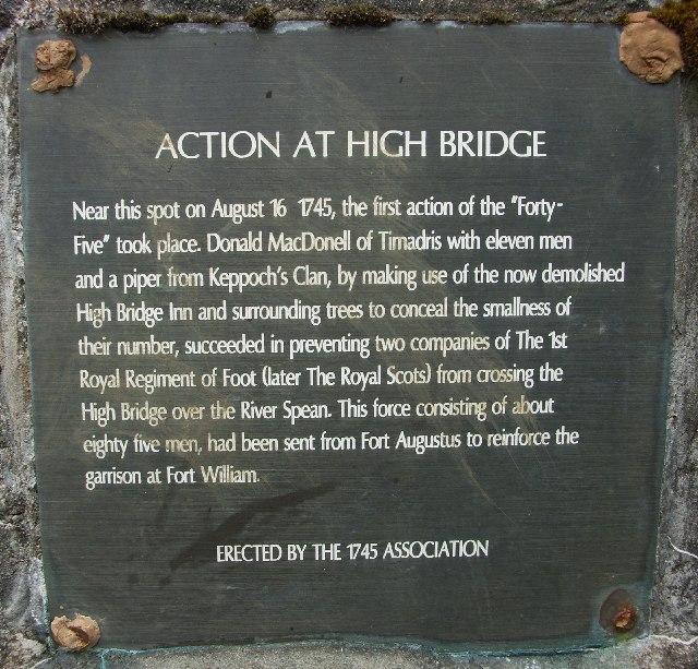 High Bridge near Spean Bridge