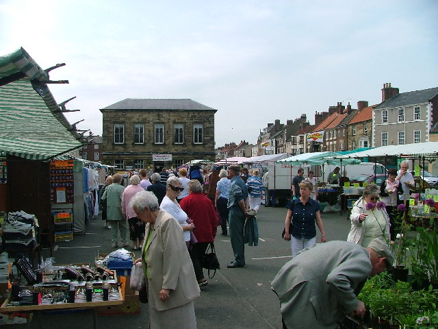 Market Day in Stokesley