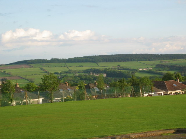 View across Cults Academy playing fields.