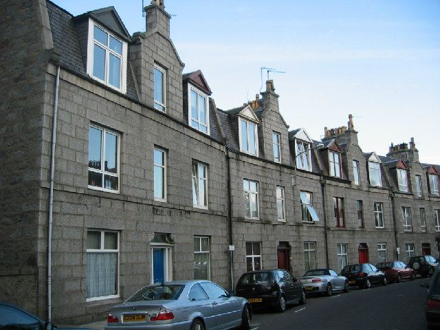 Granite housing in Wallfield Place, Rosemount