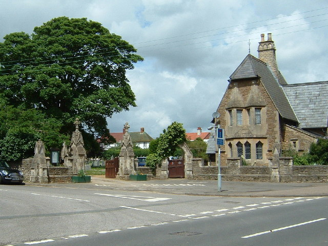 Abingdon Cemetery Entrance