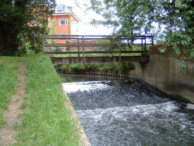 Ock Valley Walk Weir