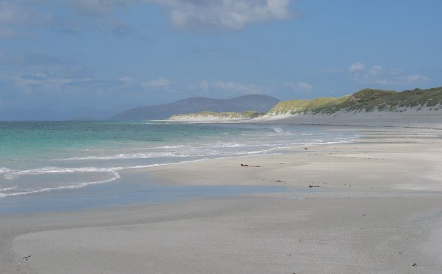 The western beach of Berneray