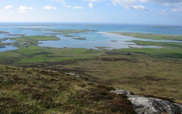 North from Crògearraidh Mòr