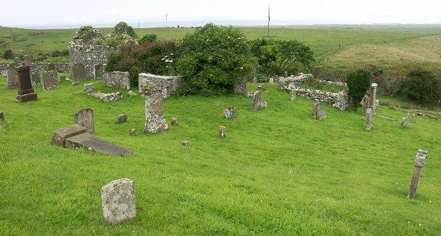Kilkivan Old Chapel near Campbeltown, Argyll