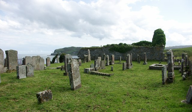 Kilchousland Chapel near Campbeltown, Argyll