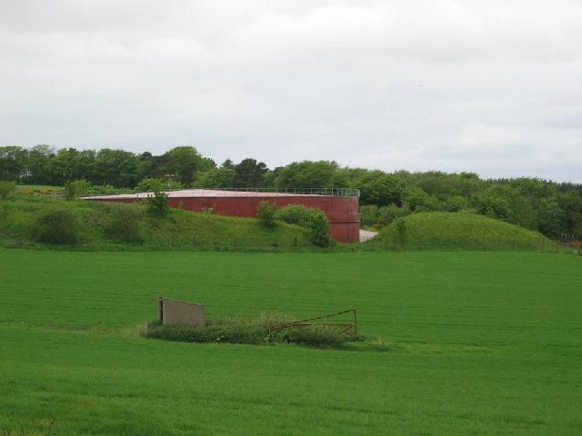 Water storage reservoir tank
