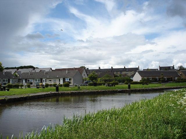 Canal Basin ,Broxburn, West Lothian