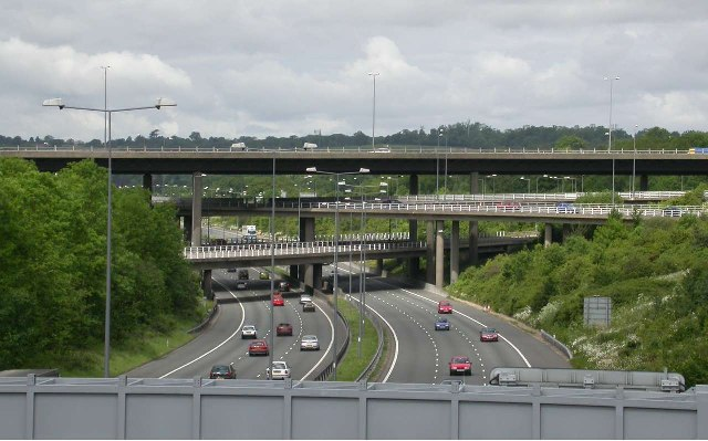 M23/M25 Intersection