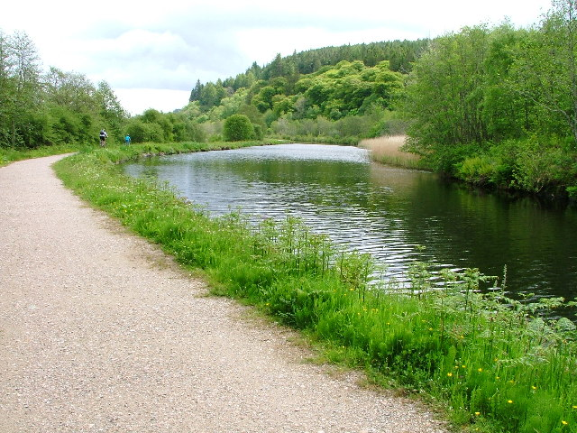 Crinan Canal and Towpath