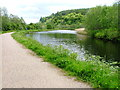 NR8091 : Crinan Canal and Towpath by Mick Garratt