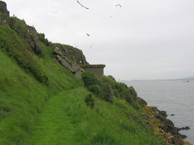 East end of Inchcolm