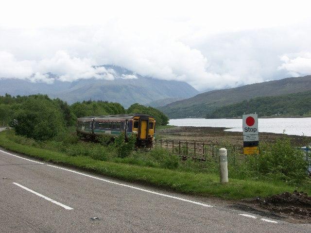 Locheilside near Loch Eil Station and Outward Bound