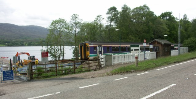 Loch Eil Station (near Outward Bound)
