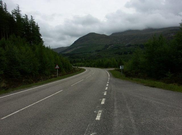 Nevis Range access road