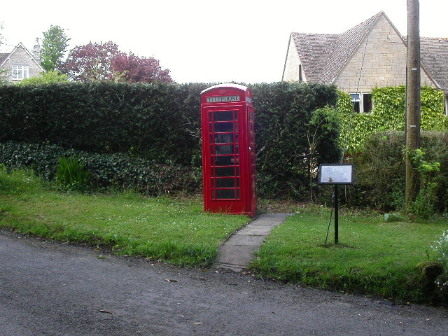 Lower Chedworth Telephone Box