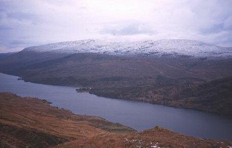 Loch Arkaig from Sgurr Mhurlagain