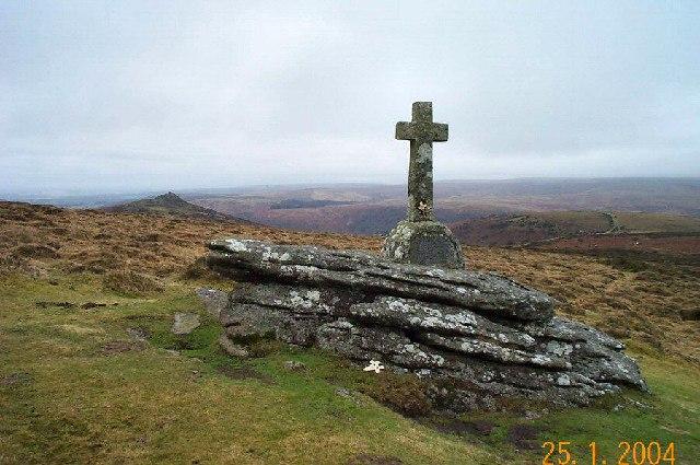 Memorial cross - Dartmoor