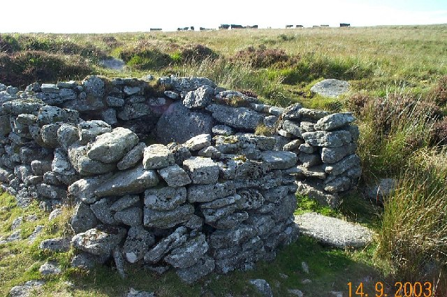Old hut - Dartmoor