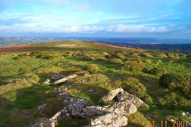 Easdon Tor - Dartmoor