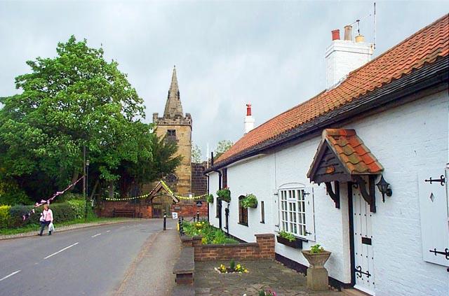 Cossall Village