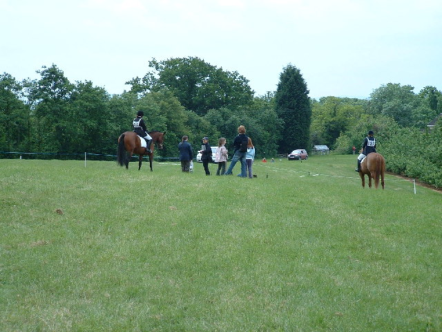 Hill Top - the Dressage Area