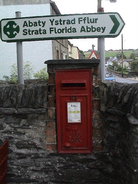 Post Box, Pontrhydfendigaid