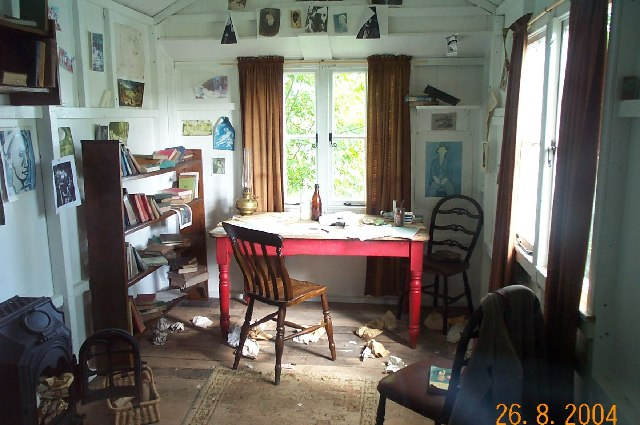 Dylan Thomas's shed